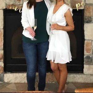 STUNNING White BCBG Maxazria Mini Dress